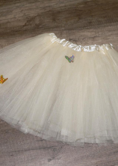 Tulle ivory
